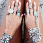 Bracelets et bagues ethniques
